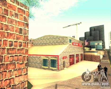 A new firehouse in San Fierro for GTA San Andreas third screenshot