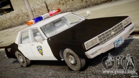 Chevrolet Impala Police 1983 for GTA 4