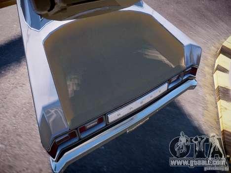 Dodge Dart 1975 for GTA 4 inner view