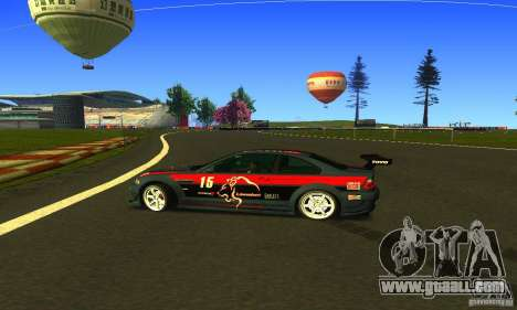 F1 Shanghai International Circuit for GTA San Andreas fifth screenshot