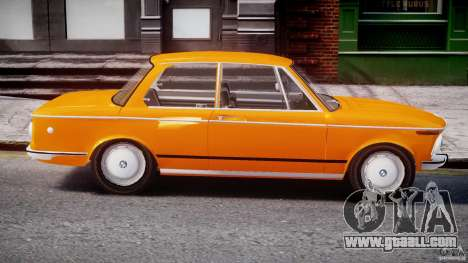 BMW 2002 1972 for GTA 4 side view