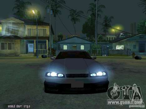 ELEGY BY CREDDY for GTA San Andreas back view
