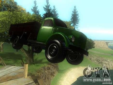Gaz-63 for GTA San Andreas back view