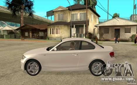 BMW 135i Coupe for GTA San Andreas back left view