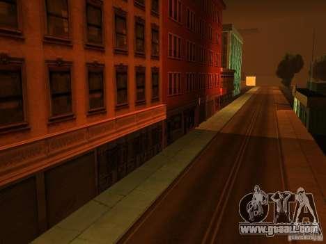 The secret underground city v1.0 for GTA San Andreas second screenshot