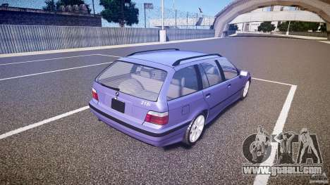 BMW 318i Touring for GTA 4 side view