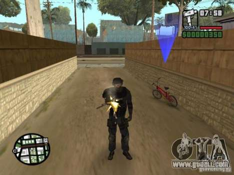 Commando of the SWAT 4 for GTA San Andreas third screenshot