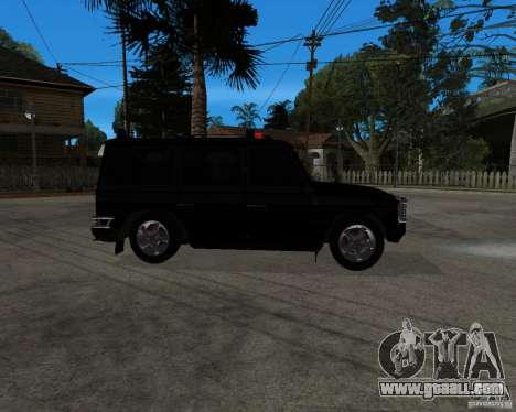 Mercedes-Benz AMG G55 (W463) 2008 SE for GTA San Andreas left view