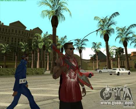 Blood Weapons Pack for GTA San Andreas tenth screenshot