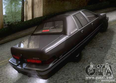 Buick Roadmaster 1996 for GTA San Andreas right view