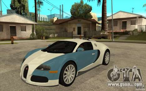 Bugatti Veyron Final for GTA San Andreas