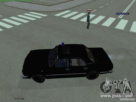 Volga FEDERAL for GTA San Andreas left view