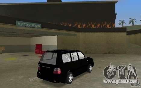 Toyota Land Cruiser 100 VX V8 for GTA Vice City