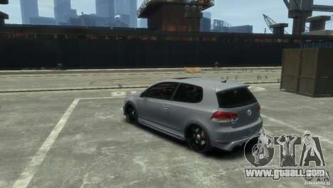 Volkswagen Golf GTI for GTA 4 right view
