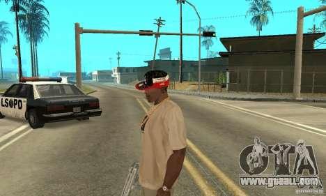 New Era Cap for GTA San Andreas forth screenshot