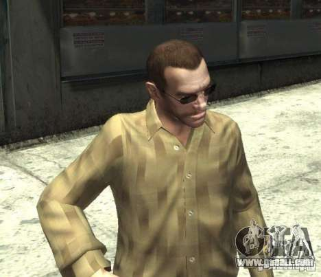 New glasses for Niko-dark for GTA 4 third screenshot