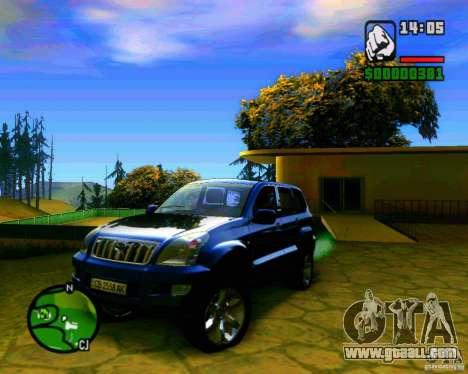Toyota Land Cruiser Prado 120 for GTA San Andreas