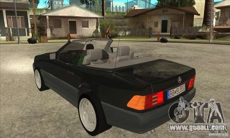 Mercedes SL-class 1995 for GTA San Andreas back left view