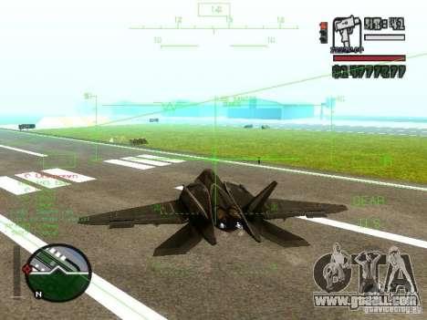 Xa-20 razorback for GTA San Andreas left view