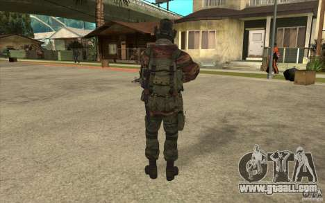 Special Forces Flag for GTA San Andreas third screenshot