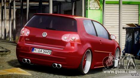 Volkswagen Golf GTI 2006 v1.0 for GTA 4 side view