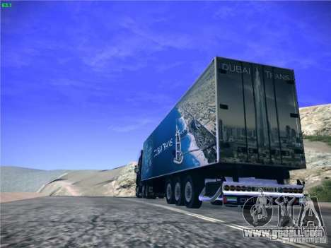 Trailer for Scania R620 Dubai Trans for GTA San Andreas