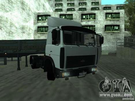 MAZ 5432 for GTA San Andreas