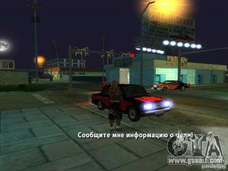 Killer Mod for GTA San Andreas sixth screenshot