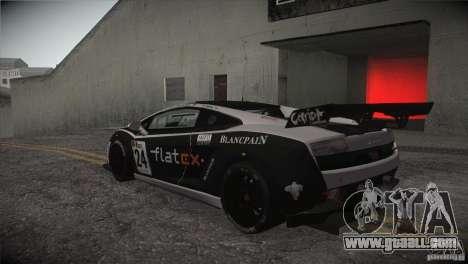 Lamborghini Gallardo LP560-4 GT3 for GTA San Andreas upper view