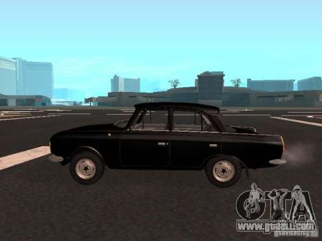 Moskvich 412 for GTA San Andreas left view