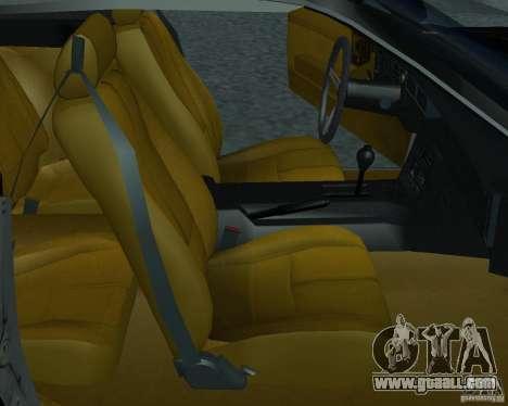 Chevrolet Camaro 1992 for GTA San Andreas back left view