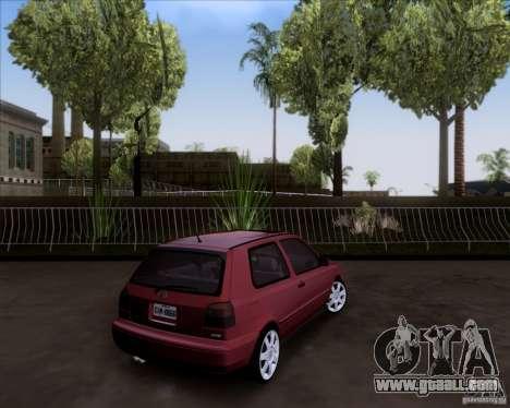 Volkswagen Golf MK3 VR6 for GTA San Andreas left view
