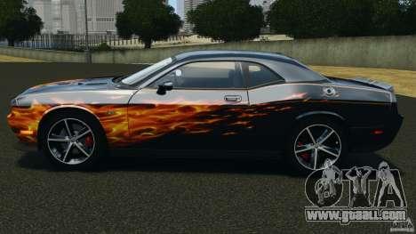 Dodge Challenger SRT8 392 2012 for GTA 4 left view