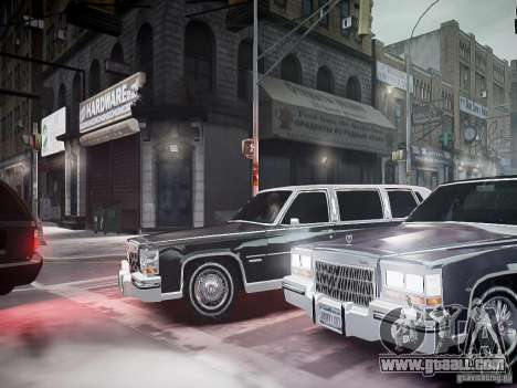 Cadillac Fleetwood 1985 for GTA 4 side view