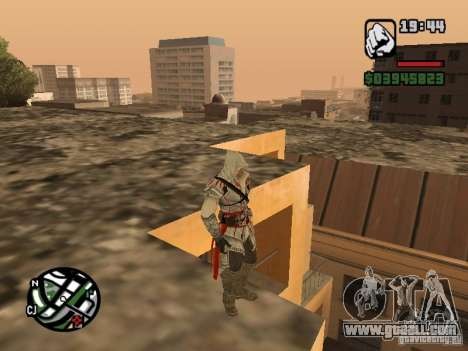 Ezio auditore de Firenze for GTA San Andreas third screenshot