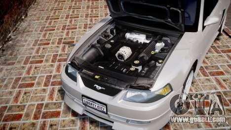 Ford Mustang SVT Cobra v1.0 for GTA 4 inner view
