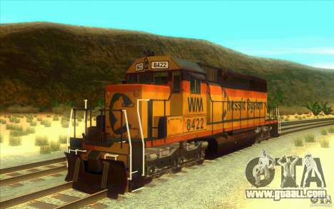 Chessie System sd40-2 for GTA San Andreas
