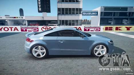 Audi TT RS 2010 for GTA 4 side view