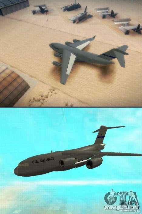 C-17 Globemaster for GTA San Andreas