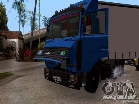 MAZ 642208 for GTA San Andreas back view