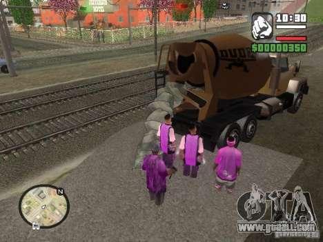 Chement for GTA San Andreas second screenshot