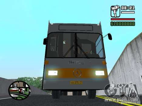 Mercedes-Benz O325 for GTA San Andreas inner view