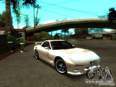 Mazda RX-7 TypeR for GTA San Andreas