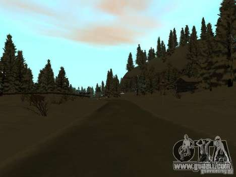Winter Trail for GTA San Andreas eighth screenshot
