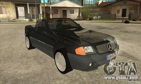 Mercedes SL-class 1995 for GTA San Andreas back view