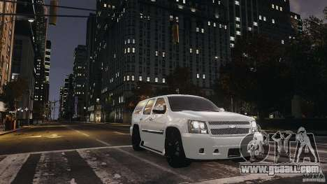 Chevrolet Tahoe tuning for GTA 4