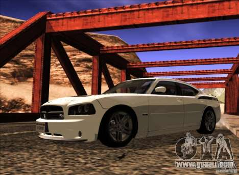 Dodge Charger R/T Daytona for GTA San Andreas side view