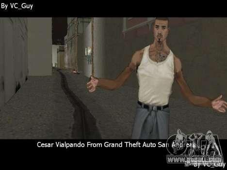 SA Characters for GTA Vice City sixth screenshot