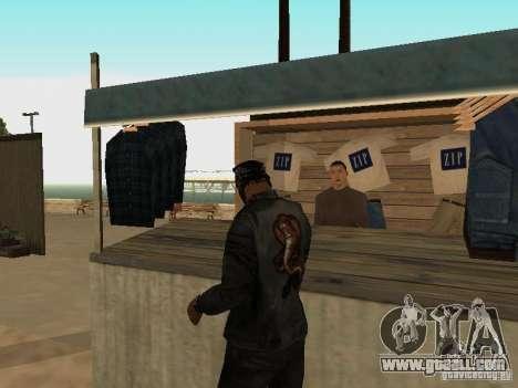 Market on the beach for GTA San Andreas twelth screenshot