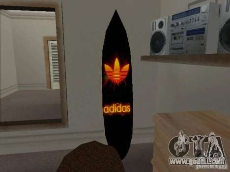 New Surf in the House CJ for GTA San Andreas